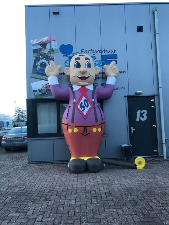 Abraham Cartoon Feestend