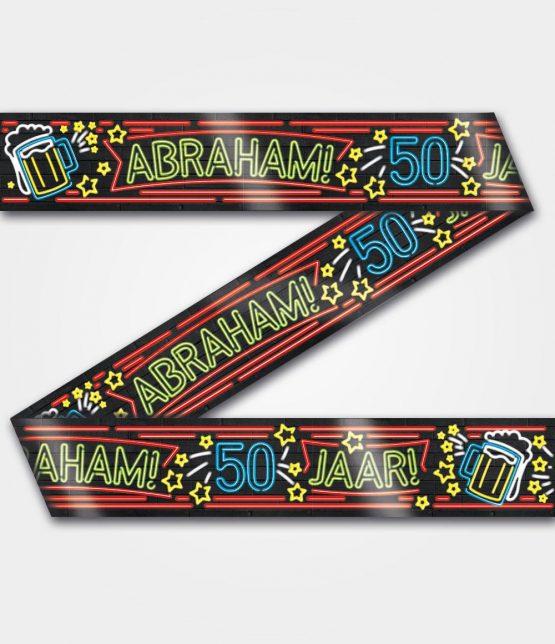 Neon tape Abraham