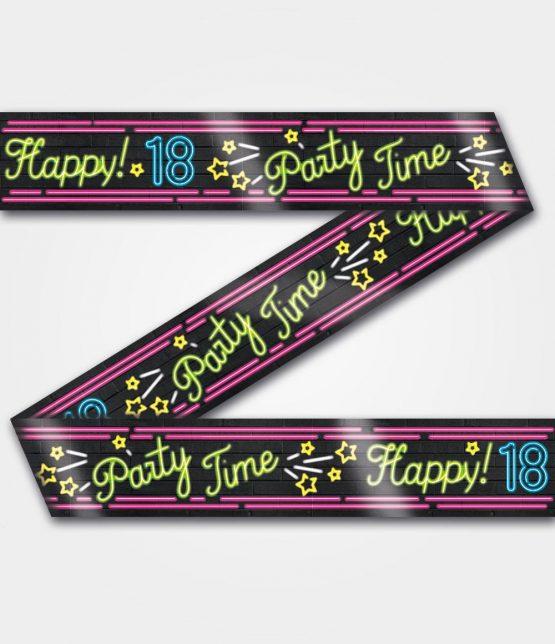 Neon tape 18 jaar