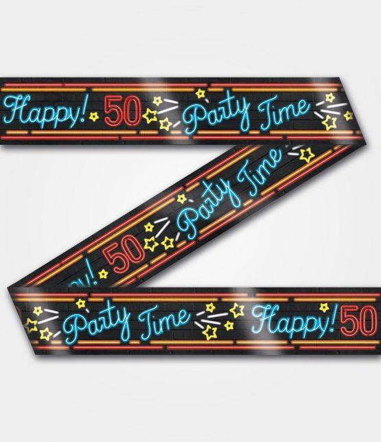Neon tape 50 jaar
