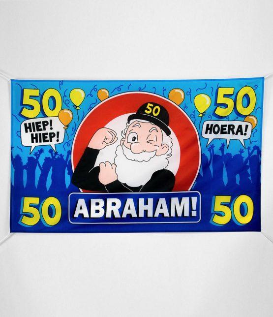 XXL gevelvlag Abraham